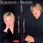 SCHUMANN - BRAHMS
