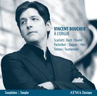 Vincent Boucher à l'orgue